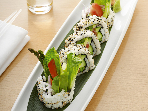 Vegetable Sushi - Prestige Fitness